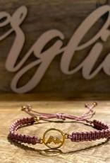Armband BERGliebe 925 Silber rosevergoldet