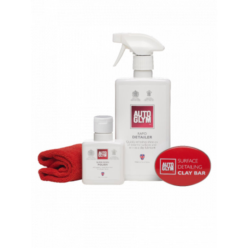 Autoglym Surface Detailing Clay Complete Kit