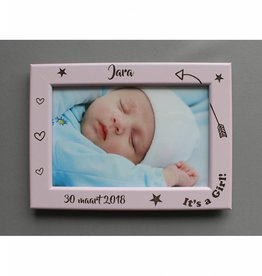 Fotolijst geboorte dochter