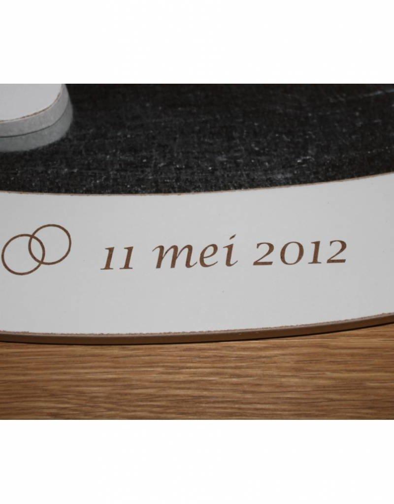 Magneetbord huwelijk