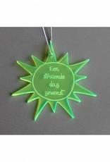"Cadeau-label Zon - ""Een stralende dag gewenst"""