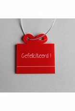 """Cadeau-label Cadeau - """"Gefeliciteerd"""""""