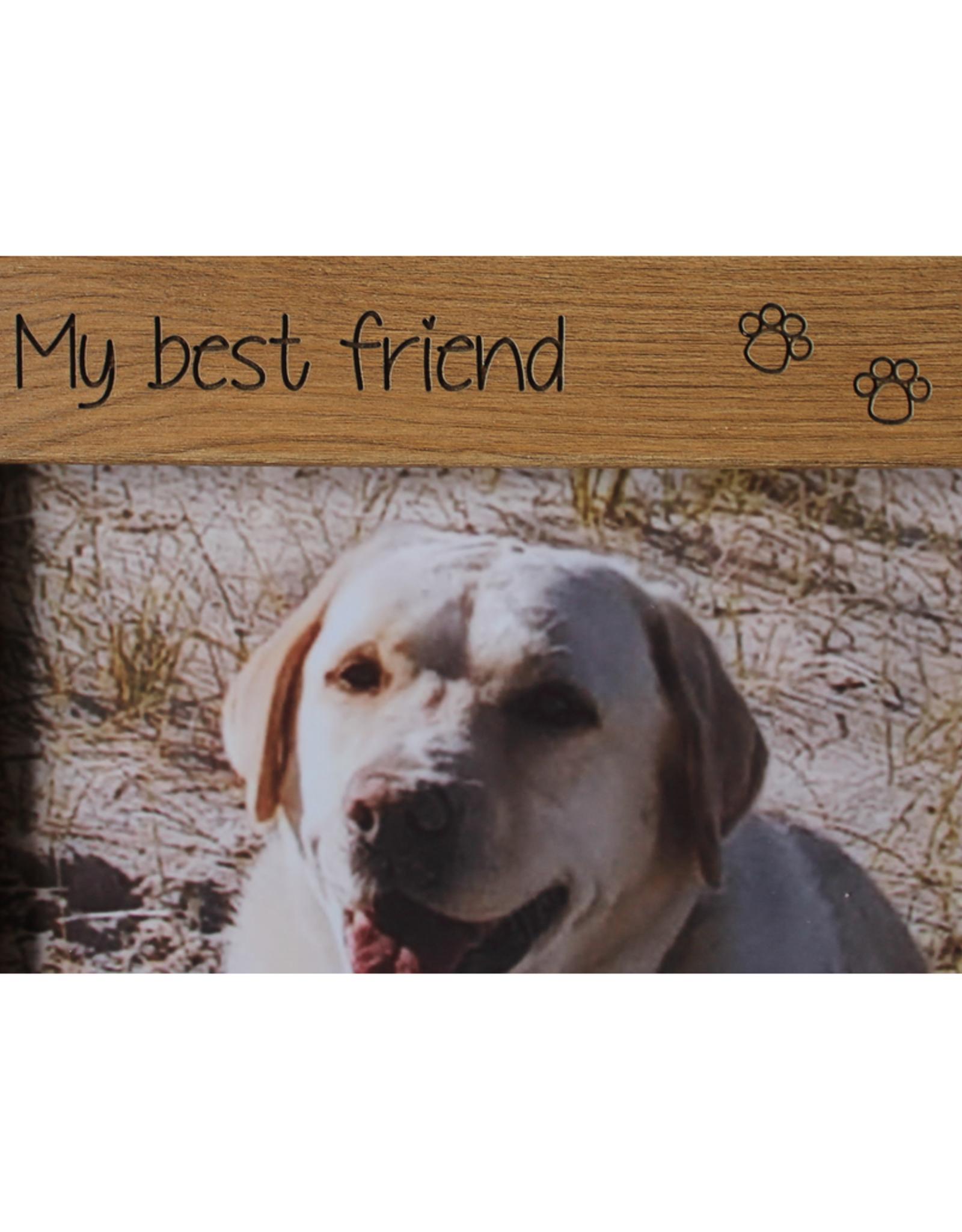 Luxe fotolijst My Best Friend hond of kat