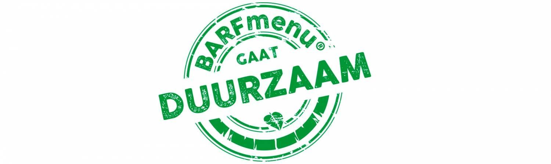 BARFmenu gaat duurzaam!