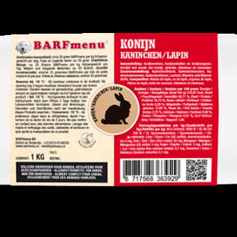 BARFmenu® Lapin