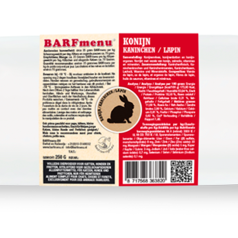 BARFmenu® Konijn - KAT