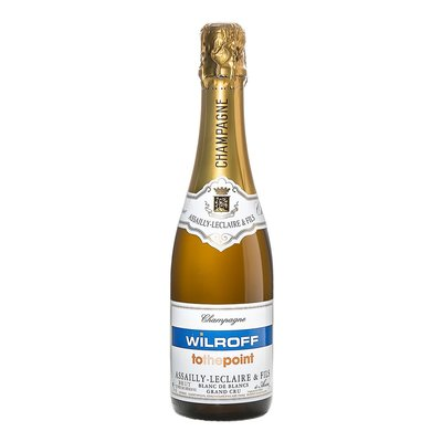 Assailly Grand Cru halve fles (37.5cl) met fullcolor logo