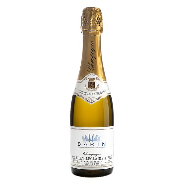halve fles Grand Cru champagne