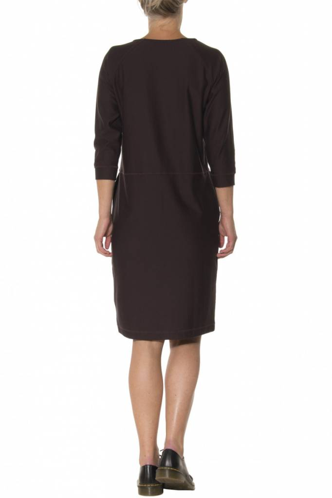 Moscow Dress - Dark Burgundy