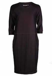 Moscow Dress - Dark Burgundy