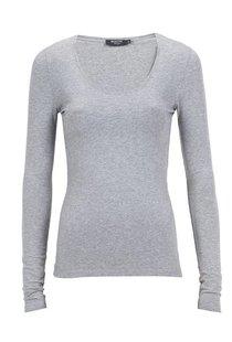 Moscow U-Neck Long Sleeve - Grey