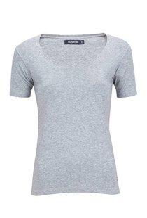 Moscow U-Neck Short Sleeve - Grey