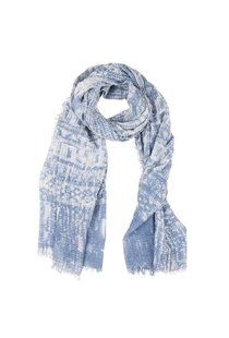 Circle of Trust Batik Scarf - Blue