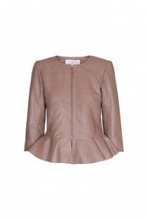 Day Birger Et Mikkelsen Load Leather Jacket - Beige