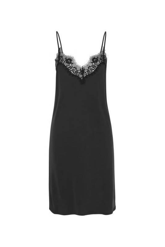 Notes du Nord Dallas Slip Dress - Black