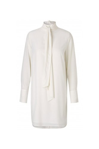 Notes du Nord Harmony Silk Dress - Cream