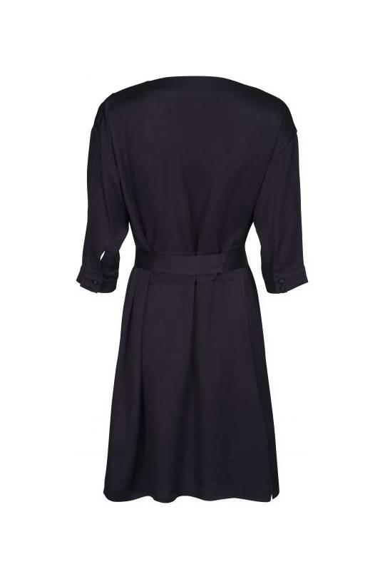 Minus Agnete Dress - Black Iris