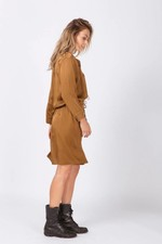 Moscow Dress - Brown