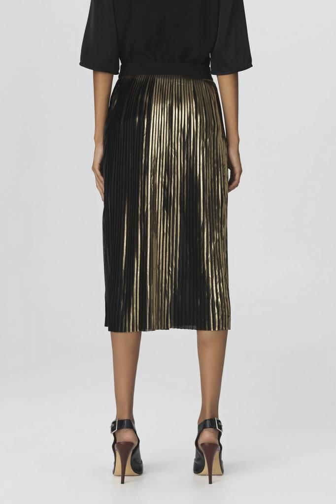 By Malene Birger Iauno Skirt - Gold
