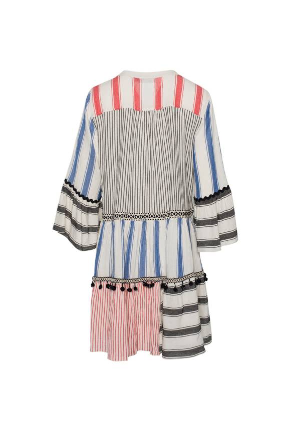 Devotion Short Triada Dress Stripes - Red