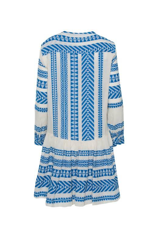 Devotion Short Dress Zakar - Blue