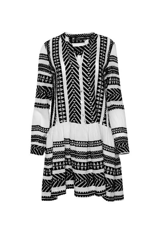 Devotion Short Dress Zakar - Black