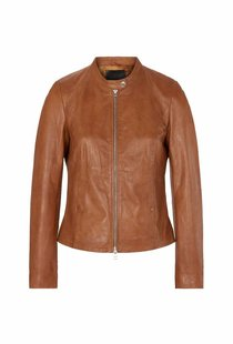 Goosecraft Anna Jacket Leather - Cognac