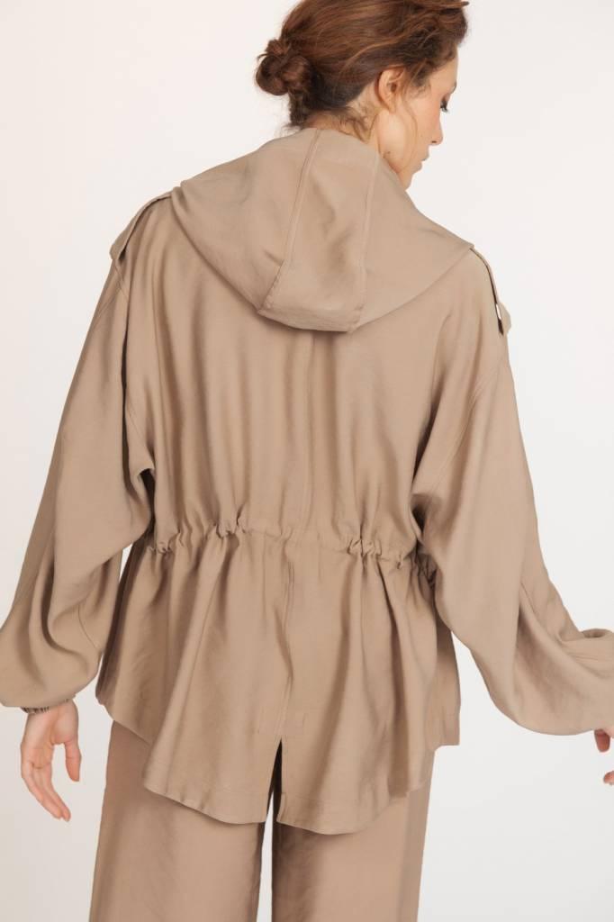La Fee Maraboutee Parka Jacket - Camel