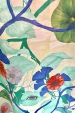 Blandat Kimono Art Deco - White