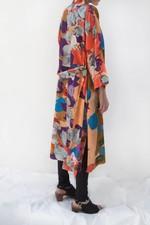 Blandat Kimono  Mad World - Peach