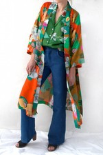 Blandat Kimono  Mad World - Coral