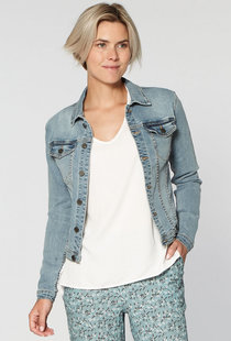 Circle of Trust Mara DNM Jacket - Blue