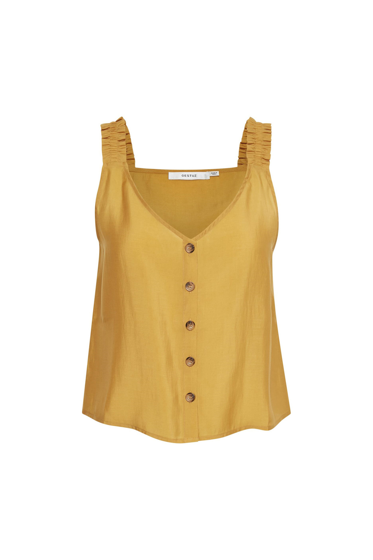 Gestuz Arienne Top - Yellow