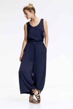 Knit-ted Vienna Top - Navy