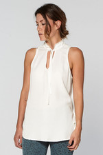 Circle of Trust Sil Top - White