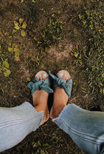 Intuitiva Tulum Slipper - Blue