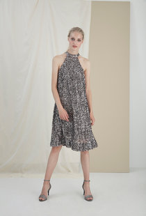 Gestuz Gloria dress - Silver