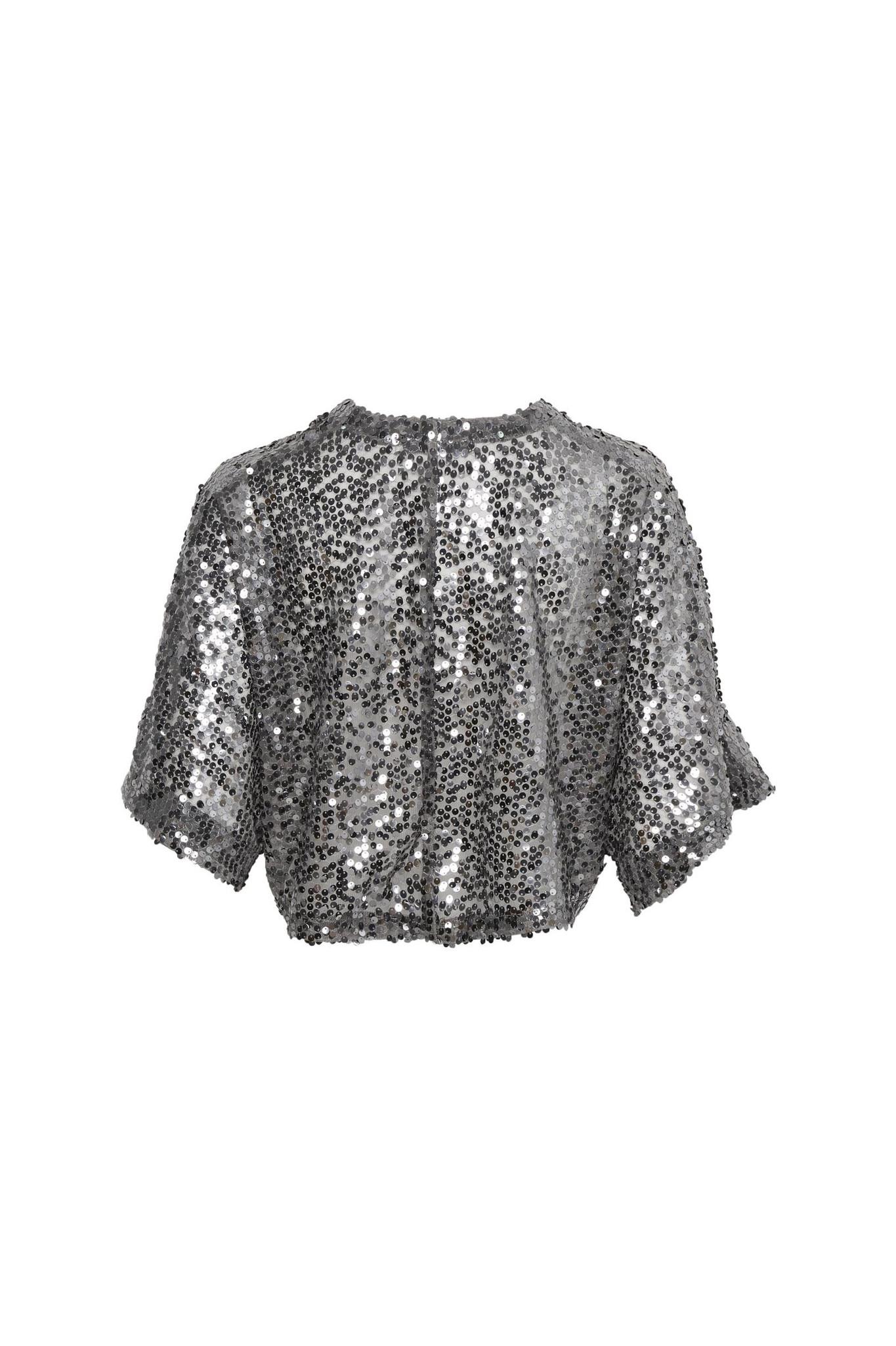 Gestuz Gloria short kimono - Silver