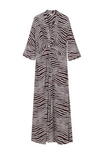 By Malene Birger Diya Dress - Cabernet