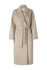 Notes du Nord Mandy Wool Coat - Nude