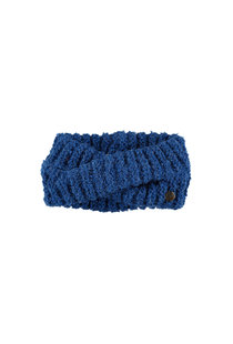 Birds on the Run Knitted Headband - Blue