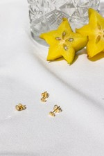 Wildthings Sauvage Stud Earring - Gold