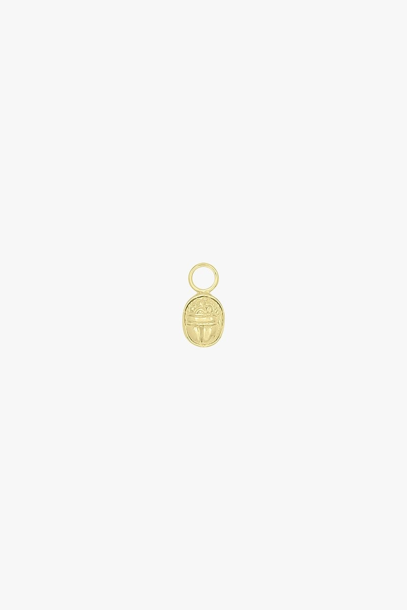 Wildthings Scarab Earring Charm - Gold