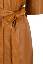 Dante6 Baroon Leather Dress - Gold