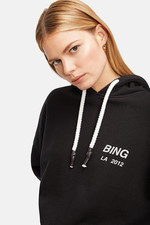 Anine Bing Lottie Hoodie - Black
