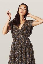 ba&sh Samanta Dress - Carbon