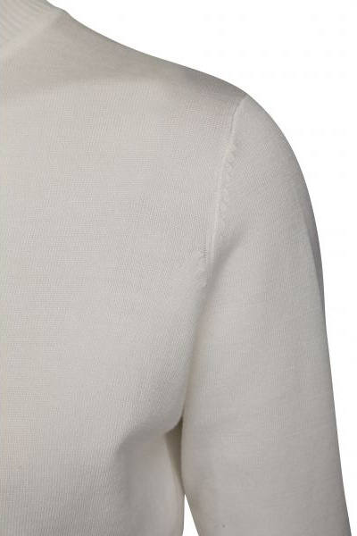 Minus Lana Roll Neck Knit - Broken White