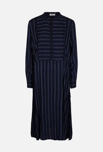 Moss Copenhagen Panille Alana LS Dress AOP - Stripe