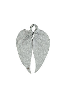 Birds on the Run Scrunchy Scarf - Grey