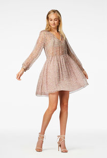 Freebird Kailey Mini Dress - Pink